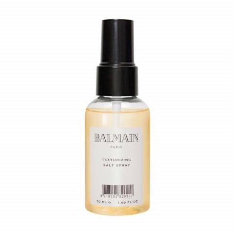 Текстурирующий солевой спрей для волос travel size