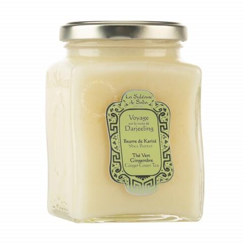 Масло ореха карите Зеленый чай и Имбирь