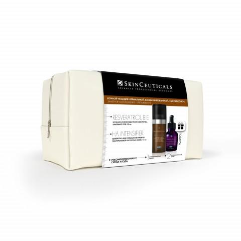 Набор: Ночной антиоксидантный уход для нормальной и сухой кожи