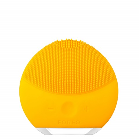 Звуковая очищающая щетка LUNA mini 2 для кожи любого типа, Sunflower Yellow
