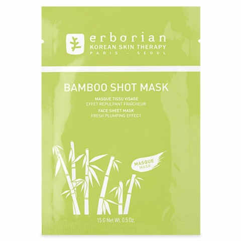 Тканевая маска для лица  Bamboo shot mask