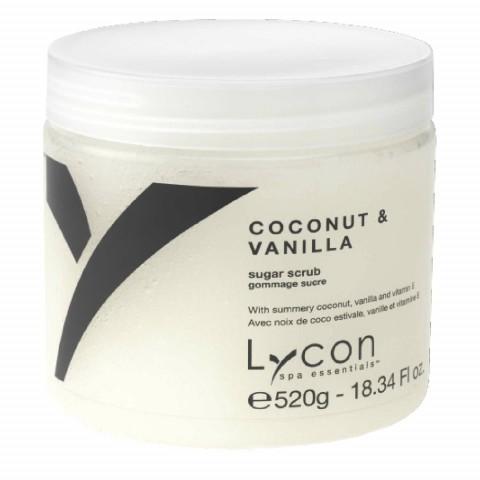 Скраб для тела кокос и ваниль