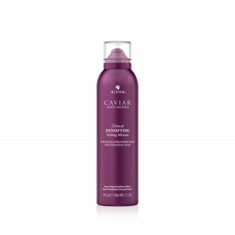 Мусс-детокс для уплотнения и стимулирования роста волос с экстрактом красного клевера