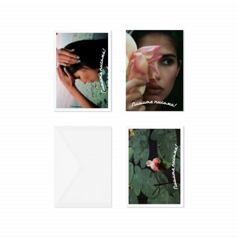 Подарочный набор открыток KEEP LOOKING «Кувшинка»
