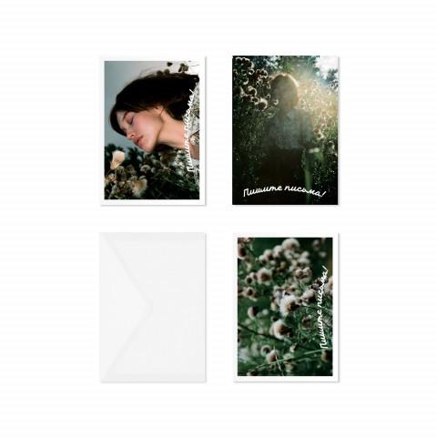 Подарочный набор открыток KEEP LOOKING «Полевые цветы»