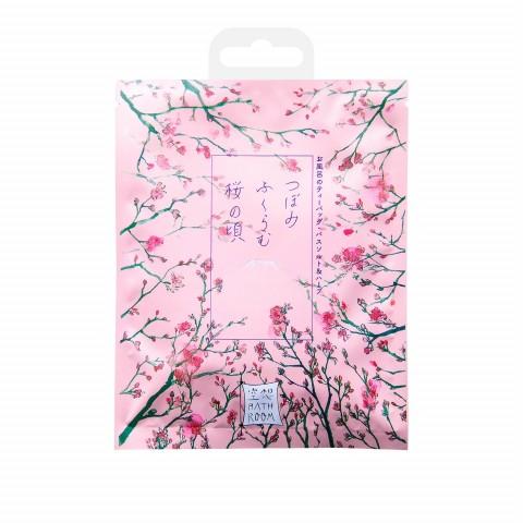 """Соль-саше для ванн """"Цветущие бутоны сакуры"""" с ароматом сакуры"""