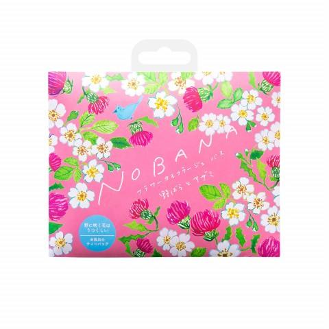"""Соль-саше для ванн увлажняющая """"Дикая роза и чертополох"""" с ароматом свежих цветов"""