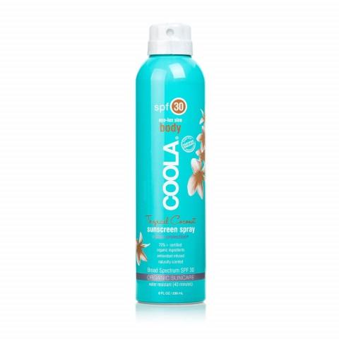 """Солнцезащитный спрей для тела """"Тропический кокос"""" SPF30 236 мл"""