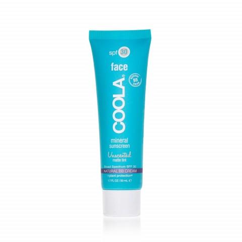 Солнцезащитный матирующий крем для лица без запаха SPF 30 с тональным эффектом