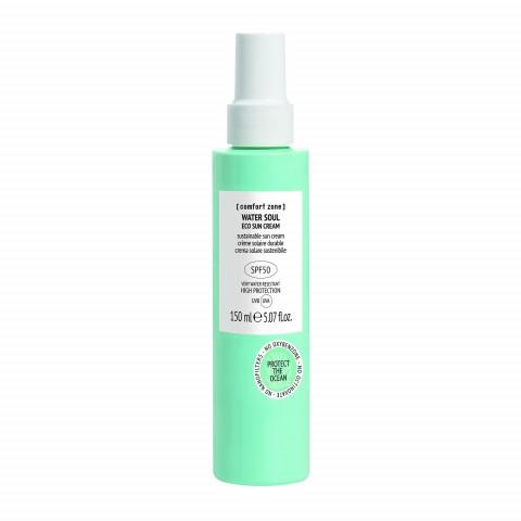 Крем солнцезащитный для лица и тела экстрастойкий SPF50 WATER SOUL
