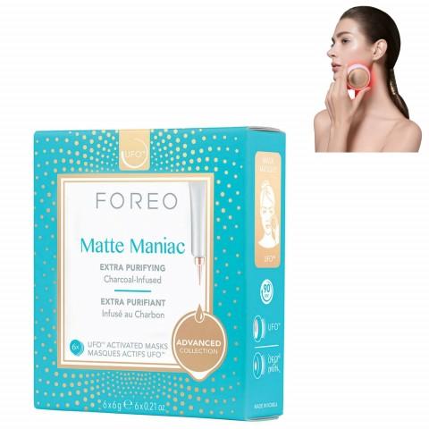 Очищающая маска для лица для жирной кожи Matte Maniac для устройства UFO