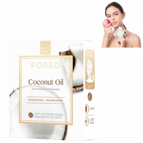 Питательная маска для лица Coconut Oil для устройства UFO/UFO mini