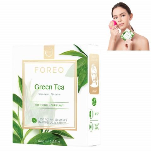 Очищающая маска для лица Green Tea для устройства UFO