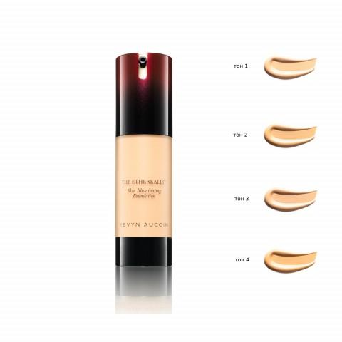 Подсвечивающая тональная основа для макияжа