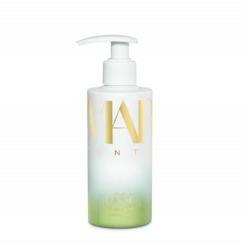 Очищающий оливковый гель для тела и волос