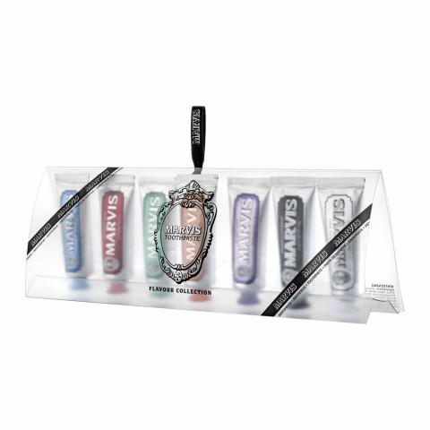 Набор миниатюр зубных паст