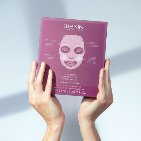 Набор из 5 биоцеллюлозных масок