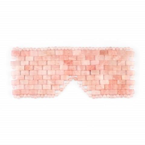 Маска из розового кварца