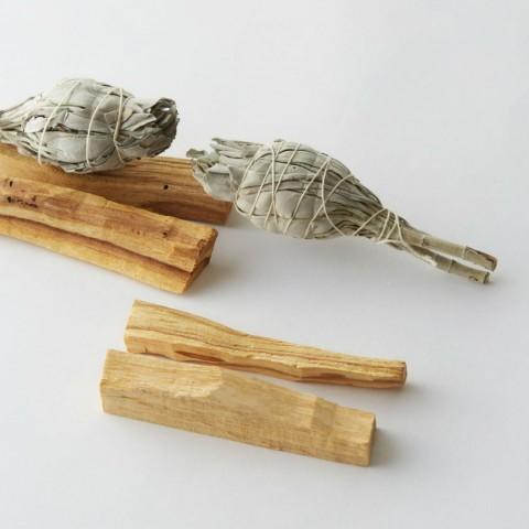 Набор для окуривания Пало Санто + Шалфей (4 Пало Санто и 2 Шалфея)