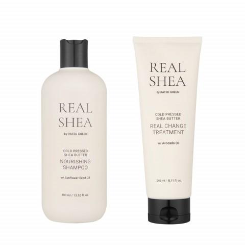 Набор для увлажнения волос с маслом ши (2 продукта)