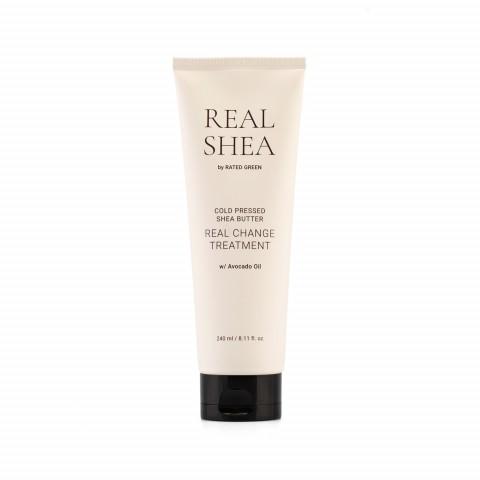 Питательная маска для волос с маслом ши