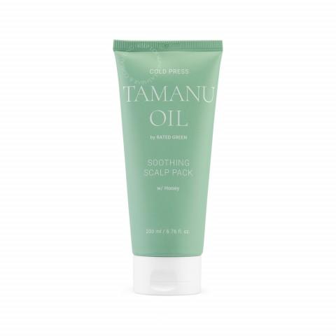 Успокаивающая маска для кожи головы с маслом таману 200 мл