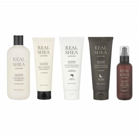 Набор для восстановления волос с маслом ши (5 продуктов)