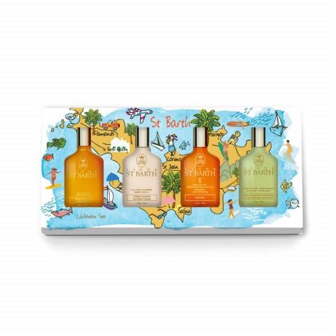 """Набор миниатюр """"Солнечный остров ST BARTH"""" (4 продукта)"""