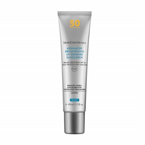Крем для ровного тона SPF50  ADVANCED BRIGHTENING UV DEFENSE