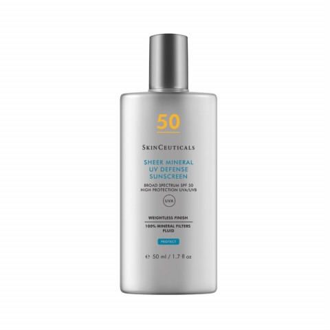 Крем для чувствительной кожи  SPF50  SHEER MINERAL UV DEFENSE