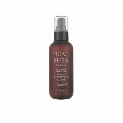 Увлажняющая сыворотка для волос с маслом ши